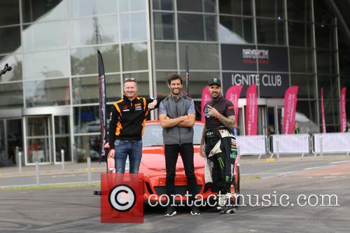 Mark Webber and Shane Lynch 2