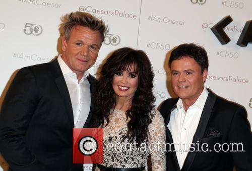 Gordon Ramsay, Marie Osmond and Donny Osmond