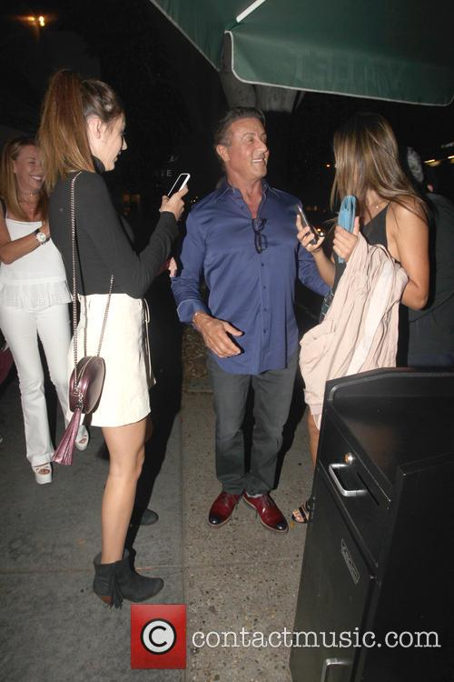 Sylvester Stallone and Scarlet Rose Stallone 9