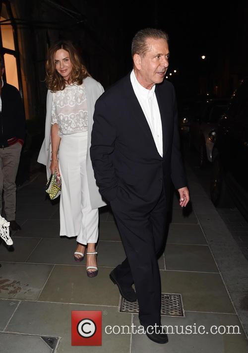 Trinny Woodall and Charles Saatchi 11