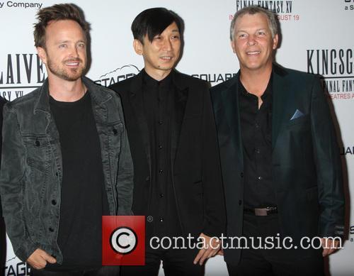 Aaron Paul, Takeshi Nozue and John Graham 8