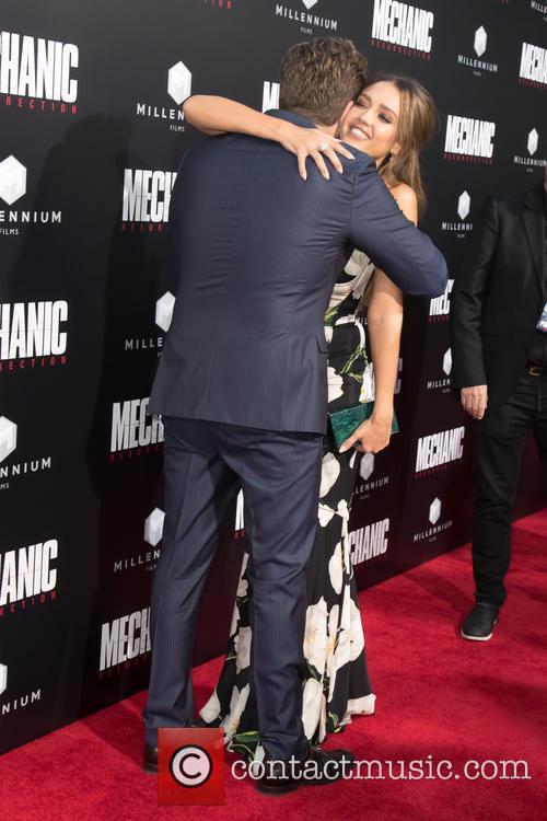 Jessica Alba and Dennis Gansel 6
