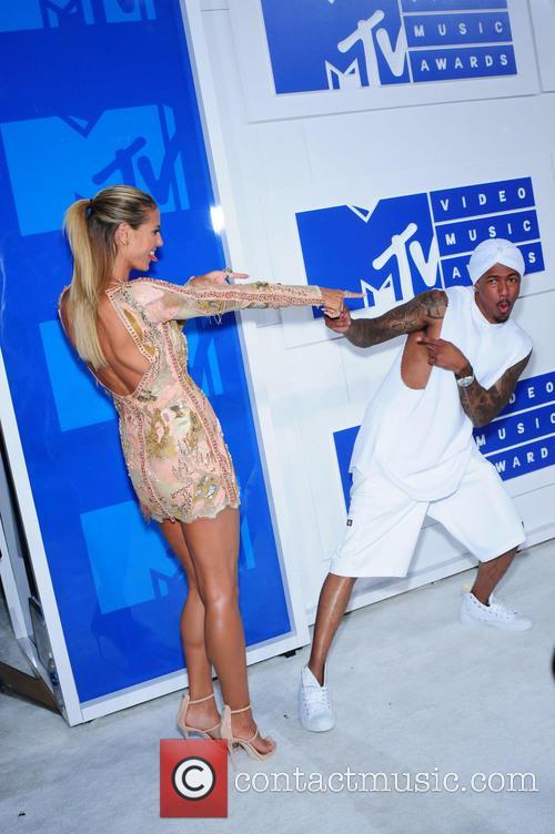 Heidi Klum and Nick Cannon 2