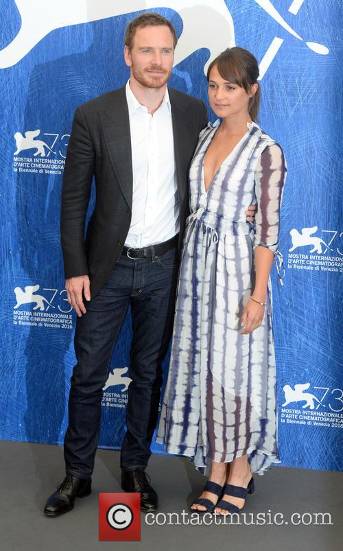Michael Fassbender and Alicia Vikander 4
