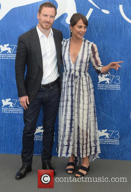 Michael Fassbender and Alicia Vikander 5