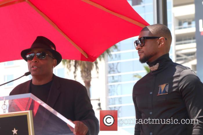 Terry Lewis, Aka Jimmy Jam and Usher Raymond 1