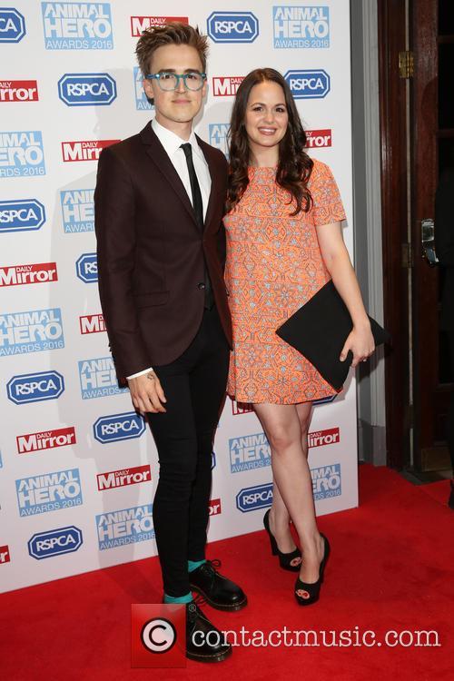 Tom Fletcher and Giovanna Fletcher 3