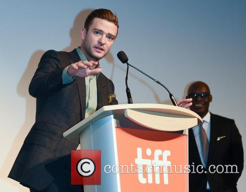Justin Timberlake and Cameron Bailey