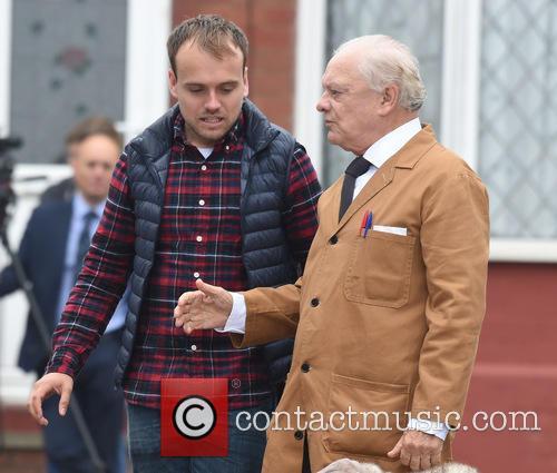 Sir David Jason and James Baxter 8