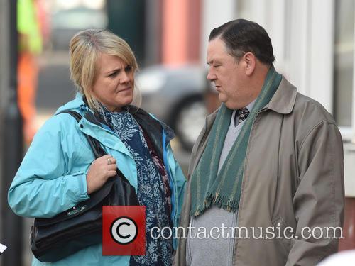 Sally Lindsey and Johnny Vegas 7