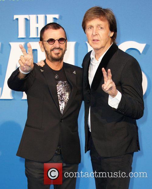 Ringo Starr and Paul Mccartney 8