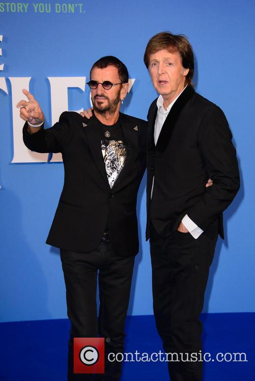 Ringo Starr and Paul Mccartney 1