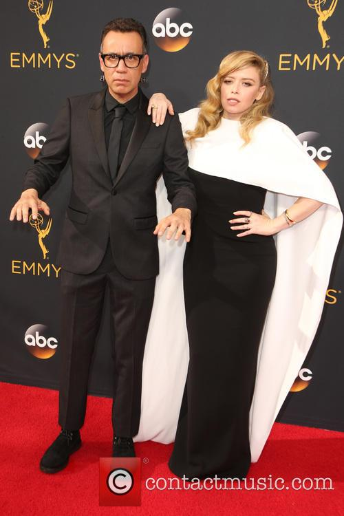 Fred Armisen and Natasha Lyonne 2