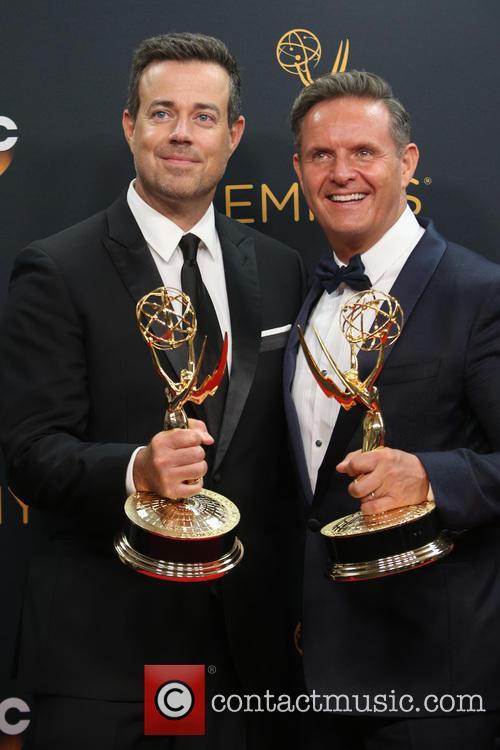 Carson Daly and Mark Burnett 8