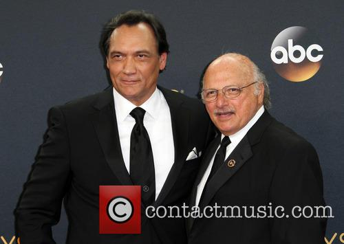 Jimmy Smits and Dennis Franz 2