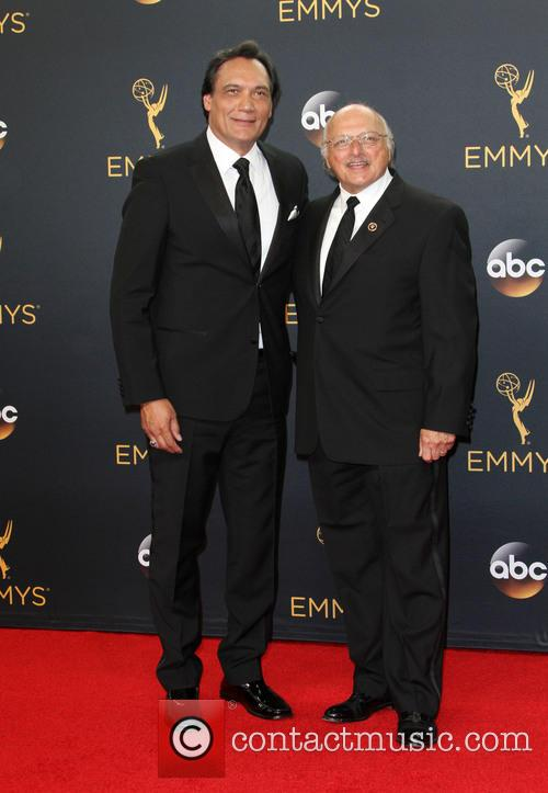 Jimmy Smits and Dennis Franz 9