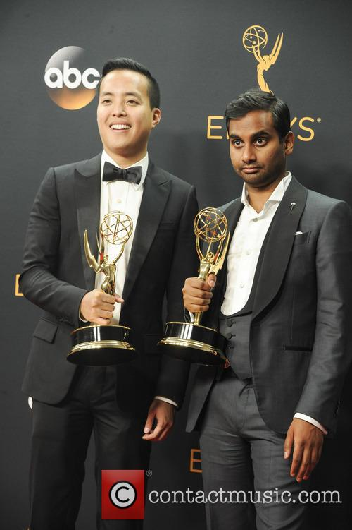 Alan Yang and Aziz Ansari 1