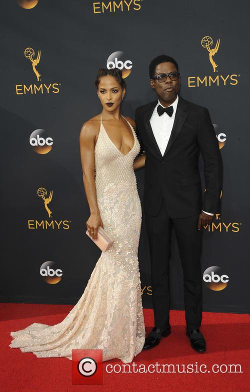 Megalyn Echikunwoke and Chris Rock
