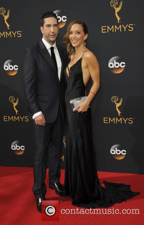 David Schwimmer and Zoe Beckman 2