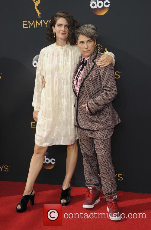Gaby Hoffmann and Jill Soloway