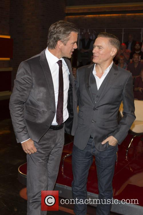 Markus Lanz and Bryan Adams