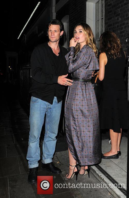 Matt Smith and Lily James 2
