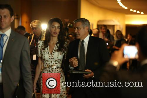 George Clooney and Amal Clooney 2