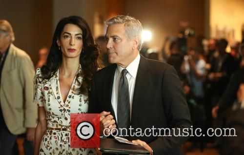 George Clooney and Amal Clooney 3