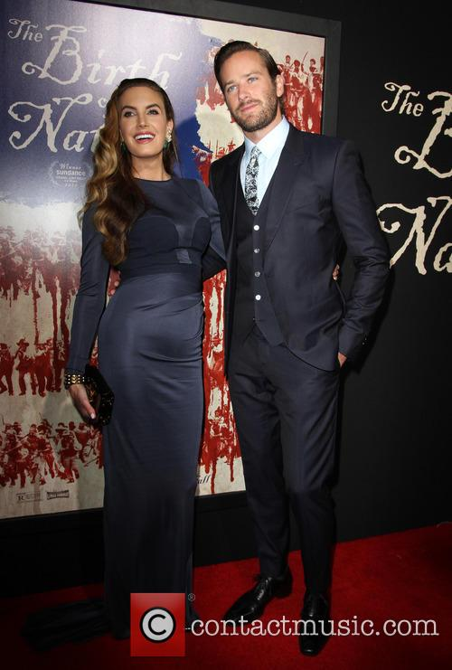 Armie Hammer and Wife Elizabeth Chambers 11