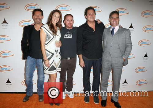 Amanda Righetti, Scott Grimes, Bob Guiney and Adrian Pasdar