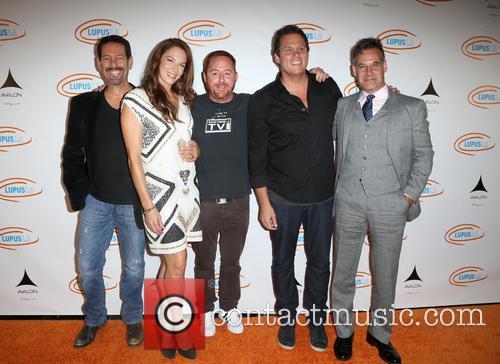 Amanda Righetti, Scott Grimes, Bob Guiney and Adrian Pasdar 5