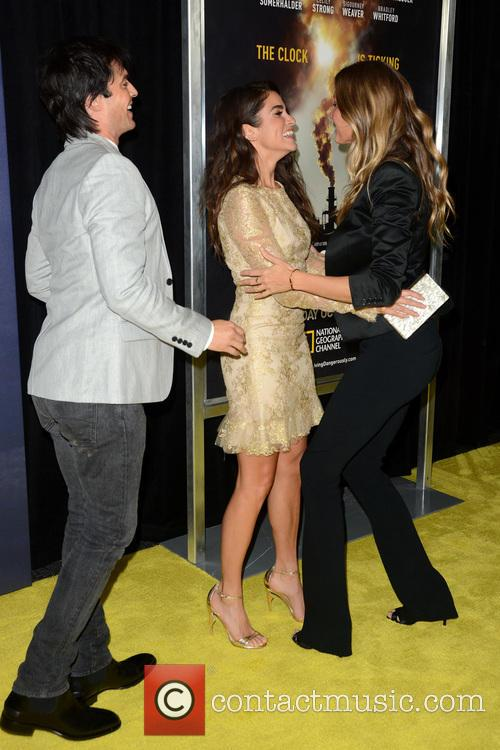 Ian Somerhalder, Nikki Reed and Gisele Bundchen