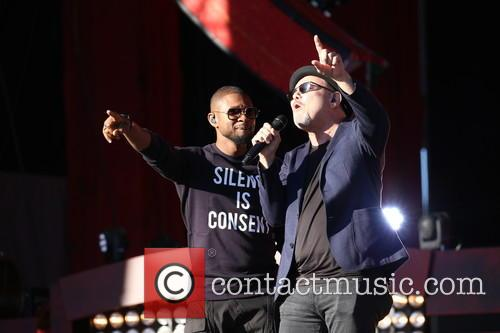 Usher and Rubén Blades 9