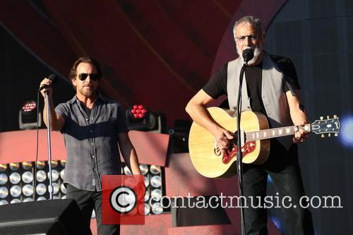Eddie Vedder and Yusuf/cat Stevens