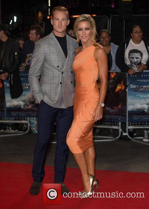Natalie Lowe and Greg Rutherford