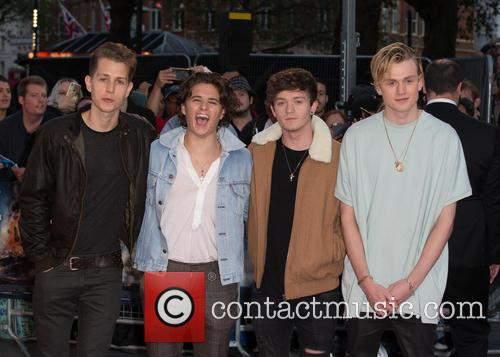 The Vamps, Connor Ball, Bradley Simpson, James Mcvey and Tristan Evans 1
