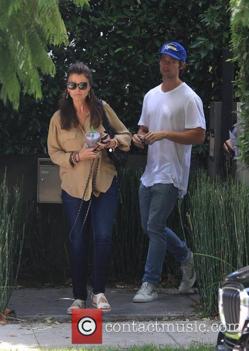 Maria Shriver and Patrick Schwarzenegger 2