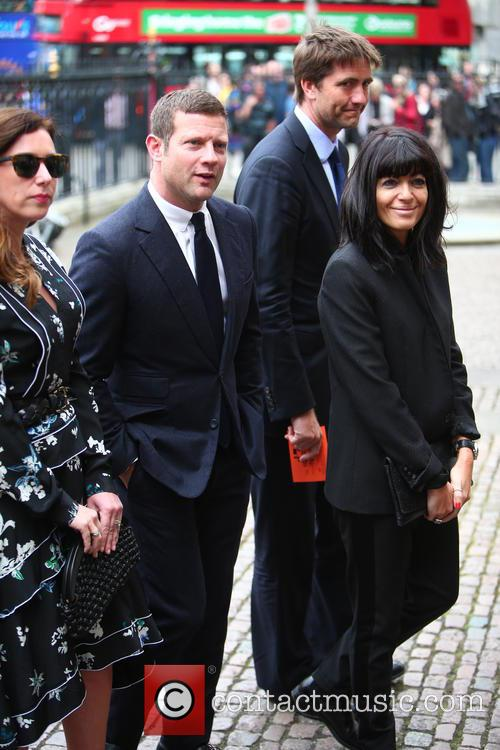 Dermot O'leary and Claudia Winkleman 1
