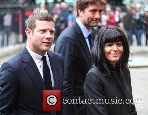 Dermot O'leary and Claudia Winkleman 2