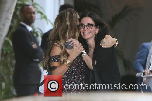 Courteney Cox and Jennifer Meyer