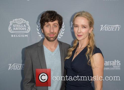 Simon Helberg and Jocelyn Towne 6