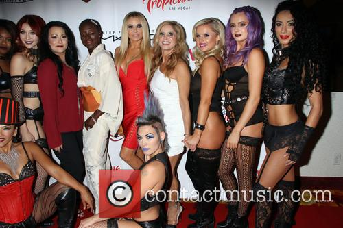 Carmen Electra and Cherry Boom Boom Cast