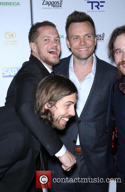Dan Reynolds, Joel Mchale and Imagine Dragons 2