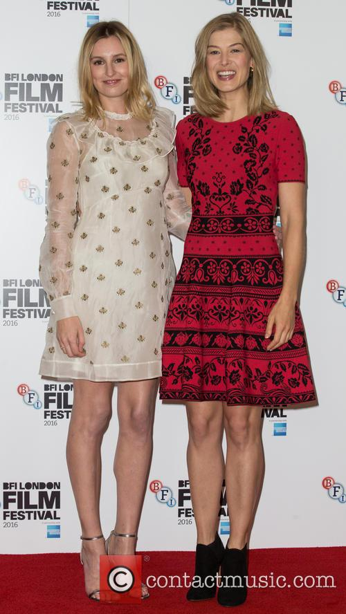 Laura Carmichael and Rosamund Pike 8