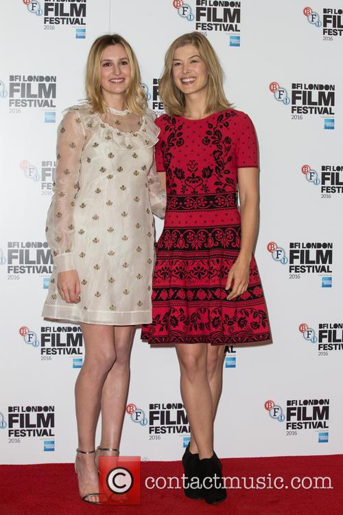 Laura Carmichael and Rosamund Pike 9