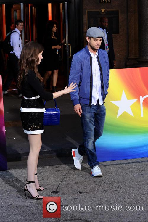 Anna Kendrick and Justin Timberlake 4