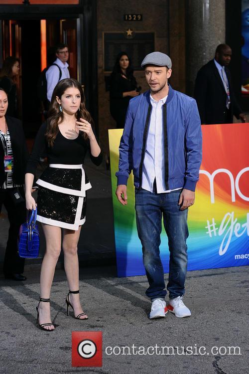 Anna Kendrick and Justin Timberlake 5