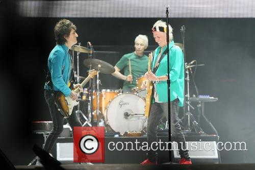 Ronnie Wood, Keith Richards and Charlie Watts 1