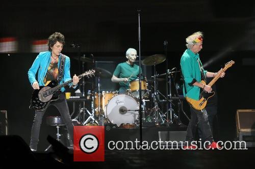 Ronnie Wood, Charlie Watts and Keith Richards 3