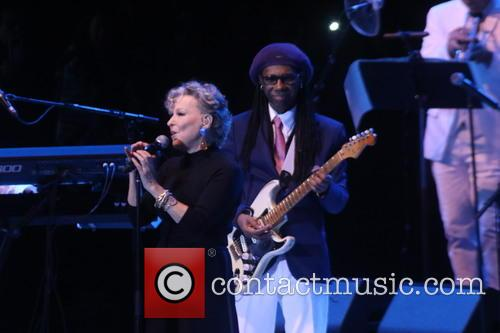 Bette Midler and Nile Rodgers 6
